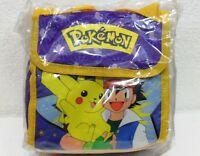 """POKEMON """"piccola borsa Ash e Pikachu"""" 2000 Giochi Preziosi/nintendo-cm. 8,5"""