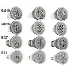 Foco LED Regulable Bombilla GU10/MR16/E27/E14 9W/12W/15W Blanco Luz Lámpara Brillante