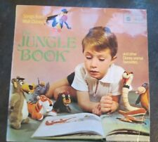 Songs from Walt Disney's The Jungle Book and other Disney animal favourites. LP.