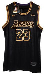Lebron James #23 LA Lakers Mamba Tribute Jersey Size XL