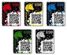 CRYPTO STAMP BLACK limitierte Blockchain Briefmarke Ethereum, BTC/ETH Zahlung ok