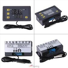Universal Digital Dual LCD Temperature Control Controller Thermostat 12V 20A