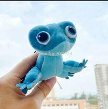 Plush Bruni Fire Salamander Frozen Blue Keychain #Lcps Gecko