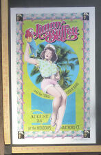 Jimmy Buffet+CoralReeferBand Bob Masse Signed ConcertPoster Hartford Connecticut