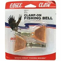Eagle Claw 04080-001 Clamp On Rod Fishing Pole Bell 2 pack
