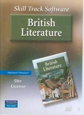 Skill Track Software: British Literature Site License w/ Manual PC MAC CD BOX!