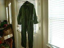 US ARMY TYPE 1 SATEEN COVERALLS UNILITY SIZE SMALL NWT