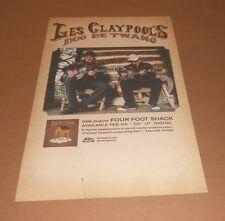 Les Claypool's Duo De Twange Promo Original 2014 2-Sided Poster Primus 11x17