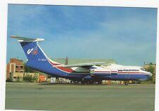 Uralinteravia IL-76M Aviation Postcard, A756