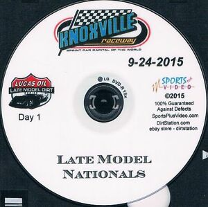 Lucas Oil Late Models DVD From Knoxville Raceway 9-24+25+26-2015