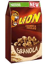 Nestle Lion Granola - Caramel & Chocolate - Breakfast Cereal 300g 10.6oz