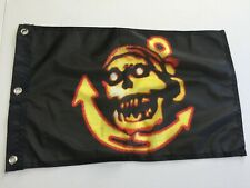 """12"""" x 18"""" Jolly Roger Pirate Flag Car Boat 31"""