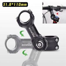 Verstellbar Fahrrad Vorbau Lenker Vorbau Lenkervorbau 31.8mm * 28.6mm DE