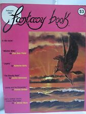Fantasy Book Magazine February 1983 Issue Illustrated Stories Science Fiction