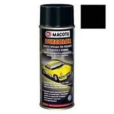 Macota Duecolor Nero Vernice Spray Per Plastica e Gomma Smalto Acrilico 400ML