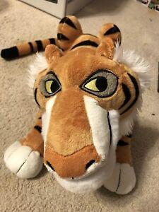 "Disney Store Jungle Book Shere Khan Tiger Plush Stuffed Doll 17""HTF Rare"