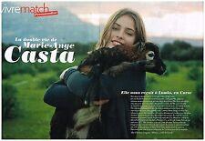 Coupure de presse Clipping 2010 (5 pages) Marie-Ange Casta