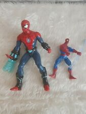 2 x Marvel Spider-Man Ice Armour Action Figures