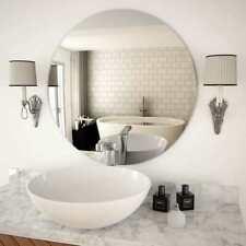 vidaXL Specchio da Parete in Vetro Circolare Decorazione Muro Casa Specchiera