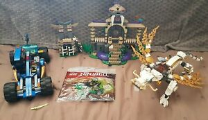 Lego Ninjago 70749 Le temple Anacondraï 70734 dragon 30532 70731 voiture