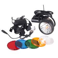 2-Mode Miner Headlamp 10W 2200mAh KL2.2LM LED Mining Light Cap Lamp outdoor