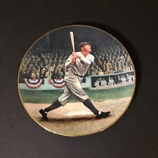 1992 Babe Ruth The Called Shot Legends of Baseball Limited Edition Plate
