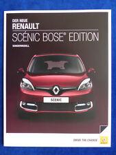 Renault Scenic BOSE Edition-Spécial Modèle-prospectus brochure 03.2013