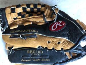 "Rawlings Player Preferred RBG10D Baseball Glove LHT 13"""