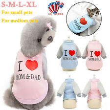 Pet Puppy Clothes Jumper Jacket Sweater For Cat Dog Chihuahua Coat Outfit Winter