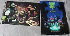 Teenage Mutant Ninja Turtles II Secret of Ooze 1991 2x Photo Poster SET EX C8