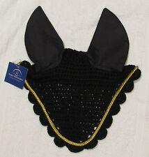 Equi-Measures fly veil / ear bonnet