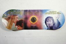 New Zealand LOTR - 2003 - UNC $1 BU Coin- Lord of The Rings Coin In a Folder!
