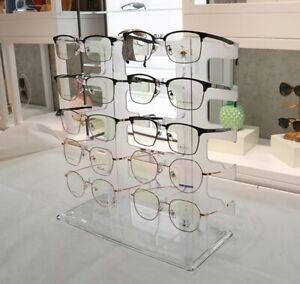 Brillenständer für 10 Brillen Brillenhalter Acryl Brillendisplay Brillenregal