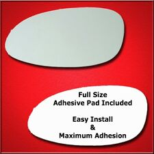 Mirror Glass Replacement + Full Adhesive For Century,Regal, Intrique Driver Sid