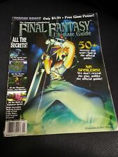 Final Fantasy VII 7 Ultimate Guide FFVII no poster (Versus Books/Square, 1997)