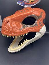 Jurassic World Dinosaur Mask w/Opening Jaw Velociraptor Dino Rival New Ships Now