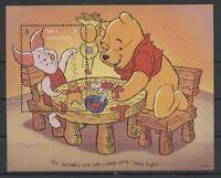 Walt Disney, Winnie the Pooh - Turks u.Caicos-Inseln - 1 Bl. ** MNH