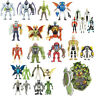 BEN 10 ALIEN CREATION CHAMBER FIGURES 6cm INTERCHANGEABLE BUNDLE LOT WAYBIG