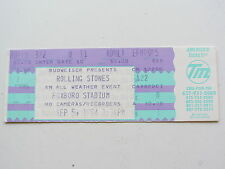 The Rolling Stones ticket 5TH juillet 1994, Foxboro Stadium Massachusetts, É. - U.