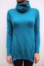Pulls bleu en laine mélangée pour femme