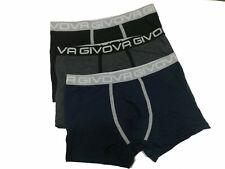 6 Boxer Uomo GIVOVA Cotone Elasticizzato Colori Assortiti Intimo Mutandina G900