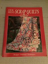 Oxmoor House Our Best Scrap Quilts and Rotary Cutting Mat