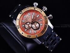 Invicta Men SEA SPIDER Swiss Ronda Chronograph Copper-Tone Dial Bracelet Watch