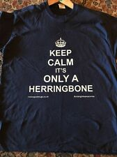 More details for keep calm it's only a herringbone road rally  t shirt