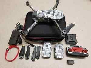 DJI Mavic Pro 4k Quadcopter Drone with Flymore Combo and extras