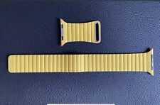 Genuine Apple Watch Leather Loop Band, 42 & 44mm Medium - Meyer Lemon