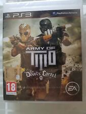 PS3 SONY PLAYSTATION 3 ARMY OF TWO : THE DEVIL'S CARTEL SEALED