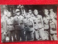 photo d'un groupe de soldats Allemand 2 ww (14 cms x 9)