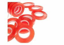 RED LINER HI TACK DOUBLE SIDED SELF ADHESIVE TAPE, HUGE 25M