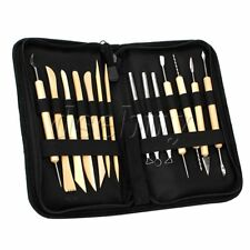 14PCS Ceramic Clay Pottery Tools Sculpting Kit Set For Drilling Hole Carving